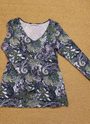 Лонгслив tom tailor пуловер реглан туника кофта блуза tom tailor
