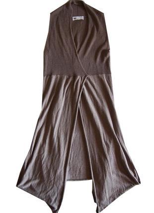 Авангардный жилет платье длинный топ накидка  flash italy в духе rundholz, annette gortz