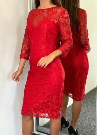Очень красивое дизайнерское платье 38