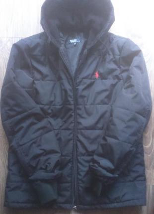 Мужская теплая куртка polo ralph lauren