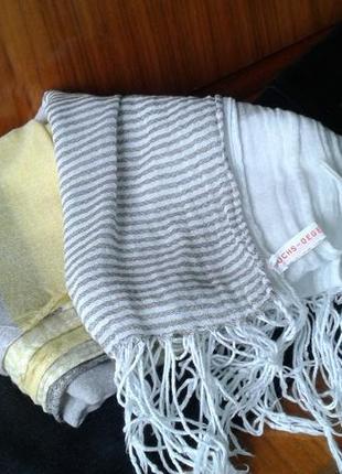 Палантин шаль шарф легкий- лето- весна- раняя осень