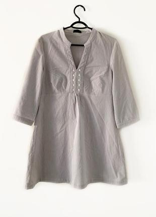 Sale, туника рубашка, туника-рубашка в полоску vila, туника для беременных, распродажа