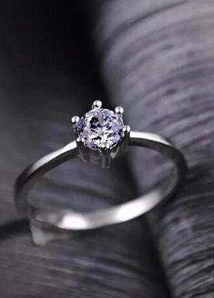 Интересное нежненькое кольцо колечко каблучка . бижутерия . стоит проба . посеребрение .