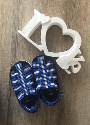 🔥 скидка 🔥 стильные сандали босоножки для вашего малыша фирмы h&m р. 20/21