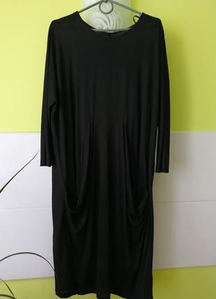 Крутое миди платье с карманами от cos