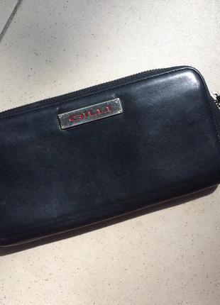 Кожаный кошелёк gilli