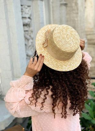 Шляпа, канотье