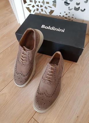 Мужские туфли baldinini. новые