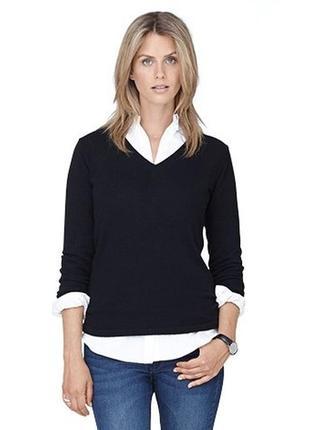 Стильный пуловер с кашемиром  от tchibo р. 40 - 42 евро наш 46 - 48.
