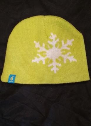 Спортивная шапка снежинка seger