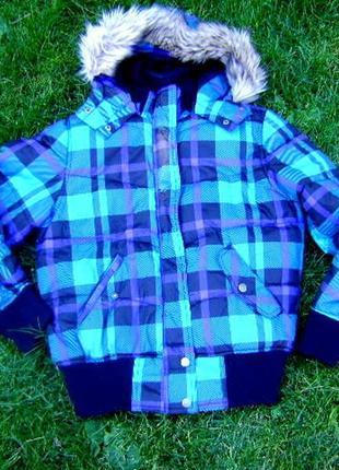 Классная теплая куртка h&m