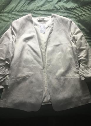 Пиджак из новой коллекции куплен в будапеште