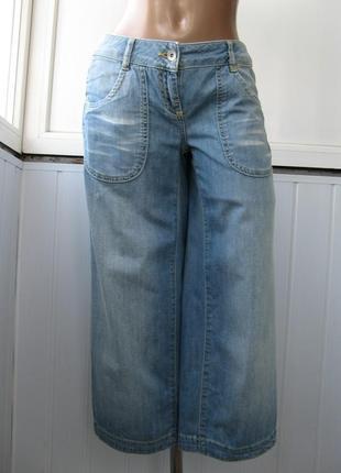 Бриджи джинсовые летние, бойфренды