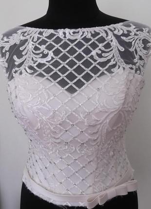 Лифы для свадебных платьев. цвет айвори