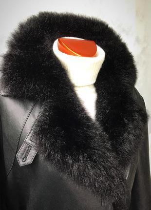 Новое, из напаланской кожи пальто- трансформер « два в одном « от banjara outdoors