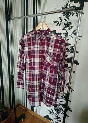 Рубашка-платье