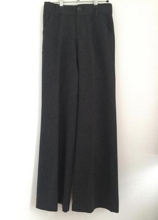 Брюки из грубой шерсти широкие оригинал dkny jeans