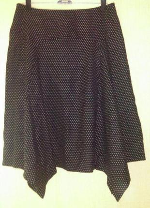 Шерстяная асимметричная   юбка любимого бренда