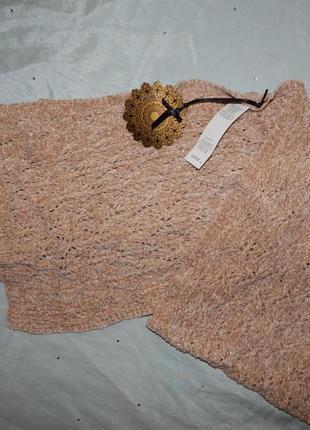 Marks&spencer шарф вязаный стильный модный новый