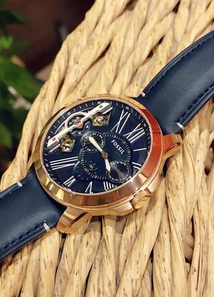 Мужские часы хронограф fossil grant me1162
