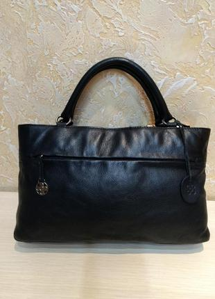 Классическая кожаная сумка toco