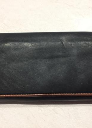 Кожаный кошелек, портмоне visconti.