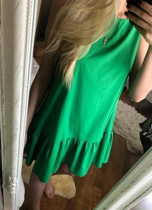 Шикарное летнее легкое платье1 фото