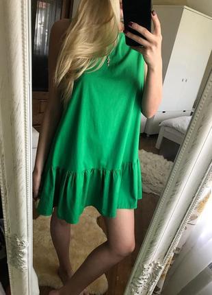 Шикарное летнее легкое платье5 фото