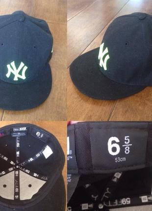 Бейсболка кепка  new york yankees р. 6 (53 см.)