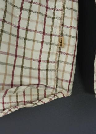 Клетчатая рубашка barour. s5 фото