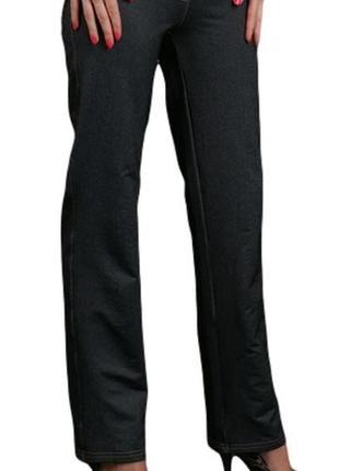 Трикотажные штаны под джинс