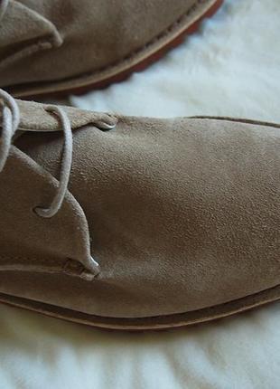 Дезерты туфли замша унисекс португалия6 фото