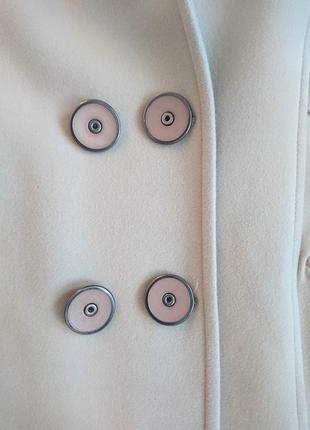 Бежевое кашемировое пальто 48-50 l-xl2 фото