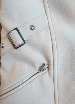 Бежевое кашемировое пальто 48-50 l-xl3 фото