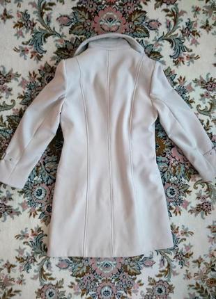 Бежевое кашемировое пальто 48-50 l-xl6 фото