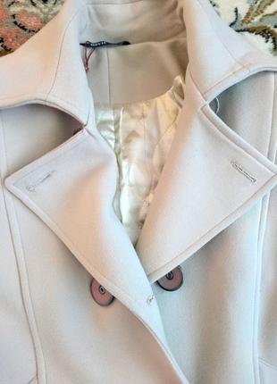 Бежевое кашемировое пальто 48-50 l-xl7 фото