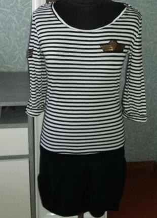 Мини платье - туника, размер xl, promod