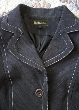 Удобный повседневный пиджак