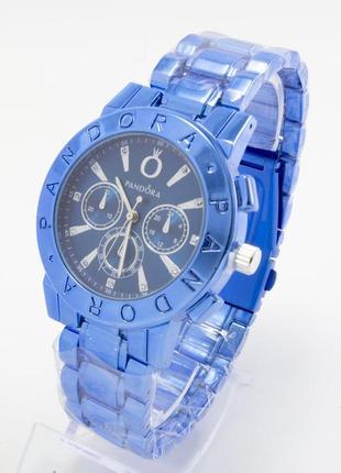Часы в синем цвете+коробочка