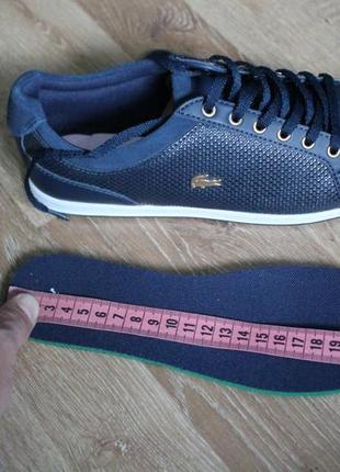Кросівки lacoste ray7 фото
