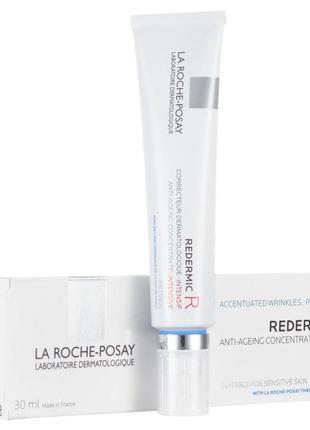 Антивозрастной корректирующий уход для лица la roche-posay redermic r