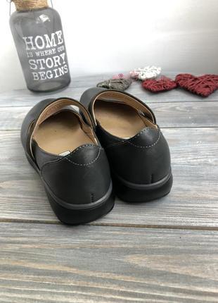 Joya ortholite кожаные туфли на платформе, мокасины3 фото