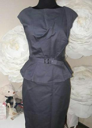 Брендовое платье делового стиля