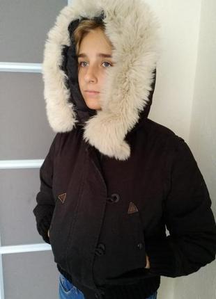 Куртка пуховая.