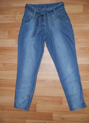 Лёгкие летние джинсы george на р. 134-140