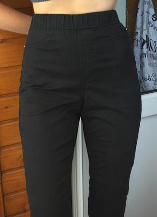 Базовые узкие джинсы с высокой посадкой george