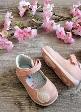 Модні туфельки для дівчаток