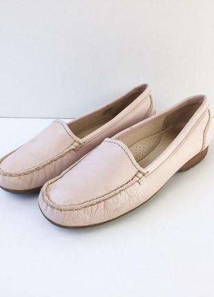 Нереально комфортные кожаные туфли от clarks mocassin