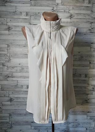 Блуза женская zara woman бежевая