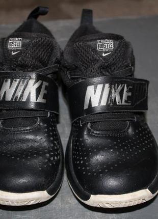 Демисезонные кроссовки,ботинки nike.27 размер. кожа. оригинал.2 фото